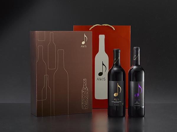 音符葡萄酒包装设计_深圳品牌设计